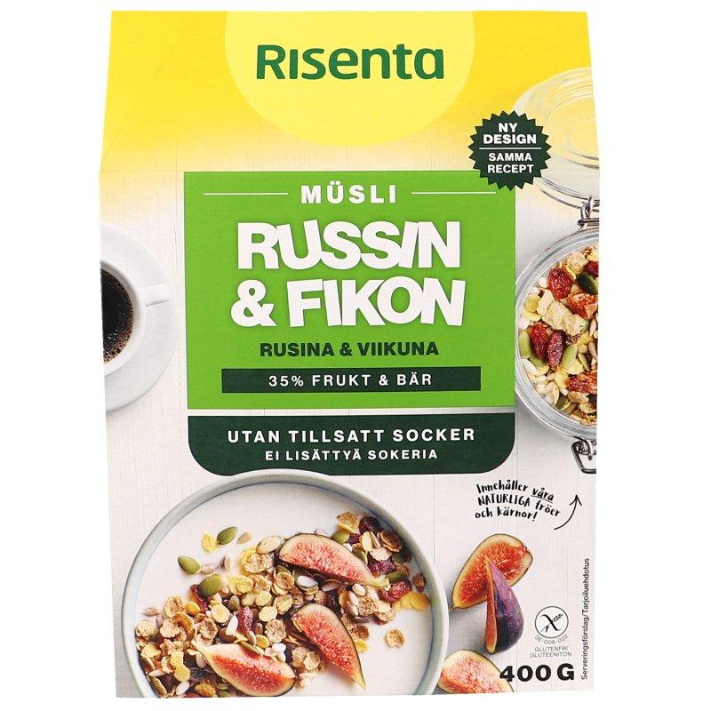 Müsli Russin & Fikon Glutenfri - 28% rabatt