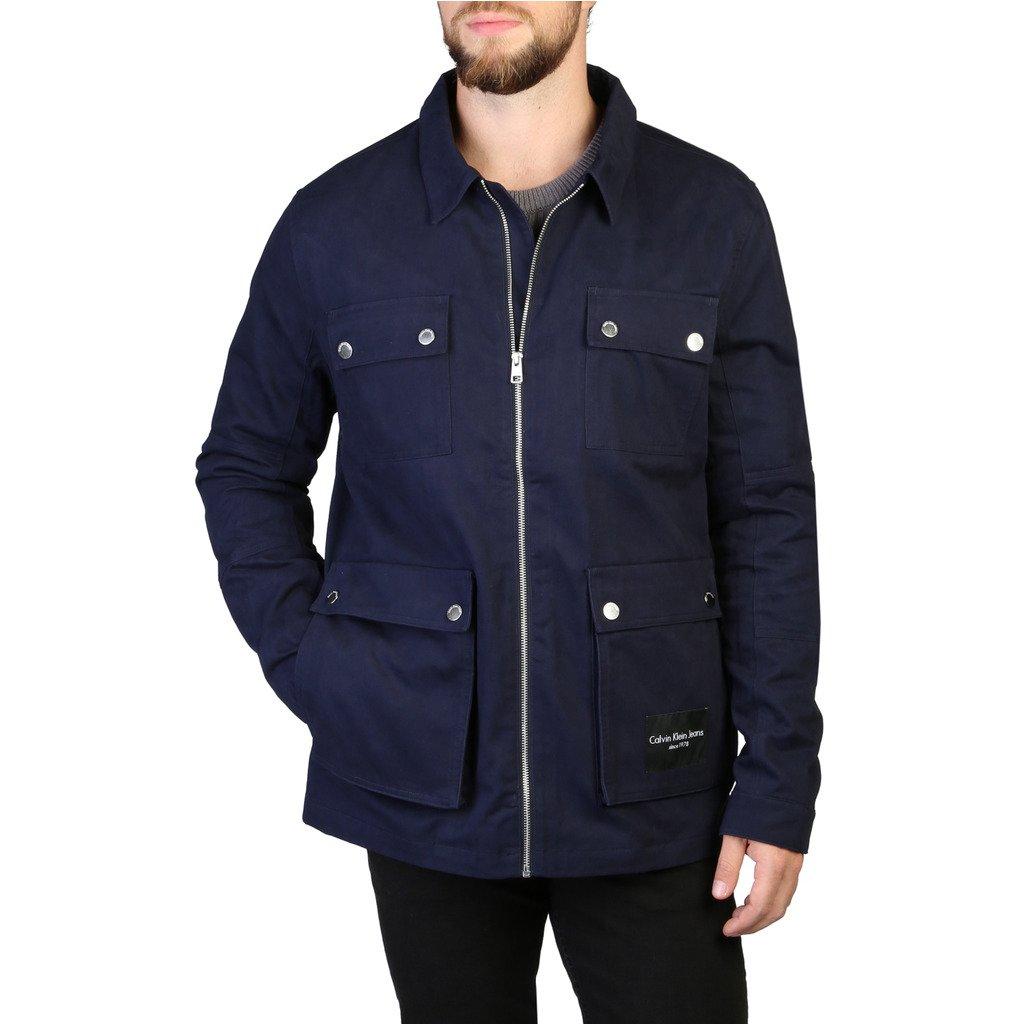 Calvin Klein Men's Jacket Blue 349319 - blue S
