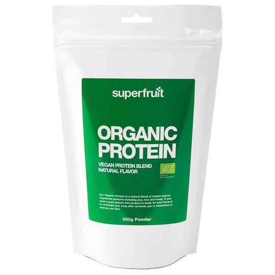 Superfruit Organic Protein Naturell, 400 g