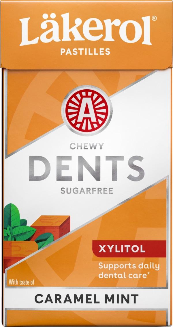 Läkerol Dents Caramel Mint 36g