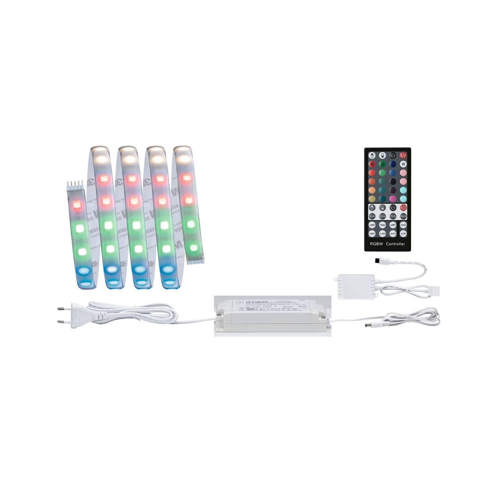 LED-nauha Max LED peruspaketti 150 cm RGB + valk.