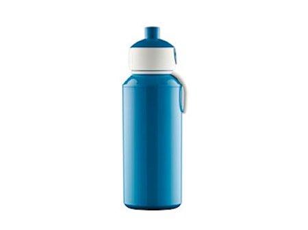 Drikkeflaske Pop-up 400ml blå