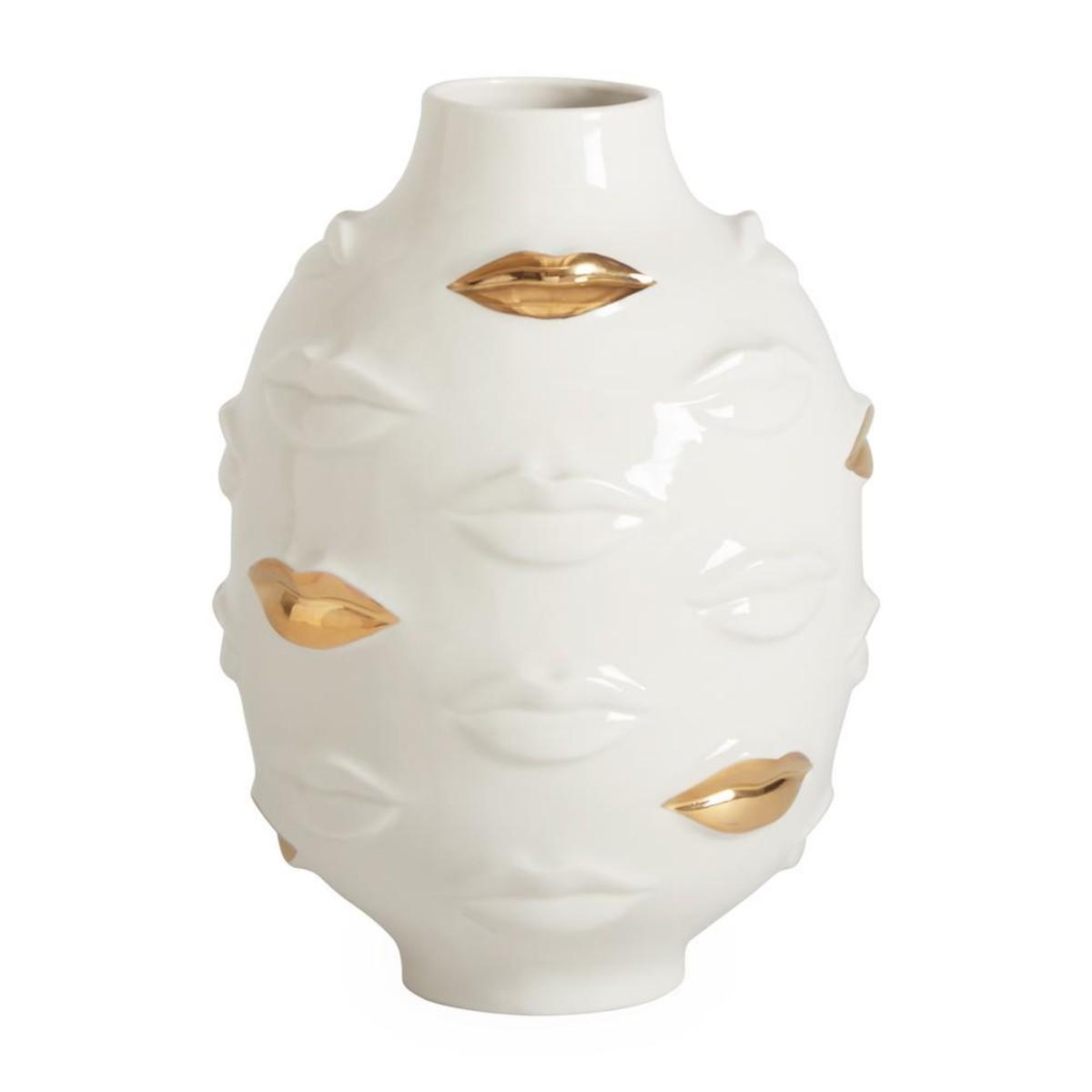 Jonathan Adler I Gilded Gala Muse Round Vase
