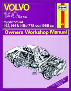 Haynes Reparationshandbok, Volvo 142, 144 & 145, Universal