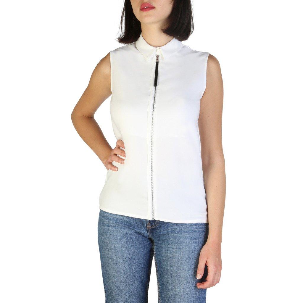 Armani Jeans Women's Shirt White 6Y5C03 - white 40 EU