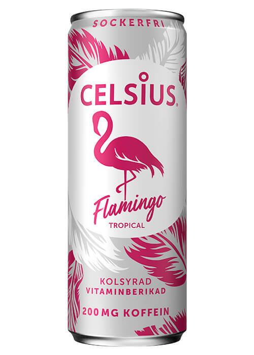 Celsius Flamingo 355ml