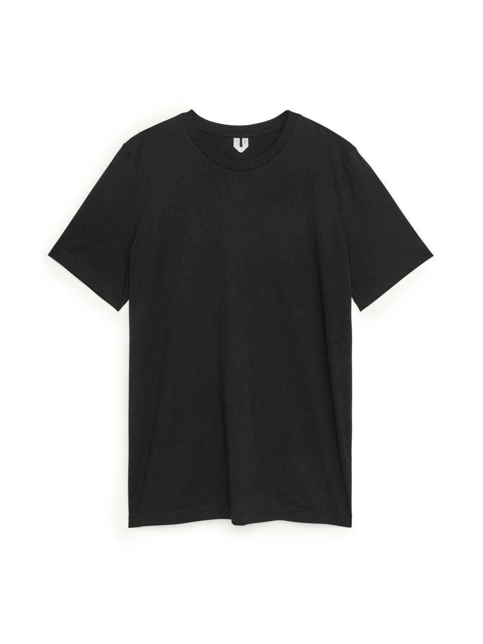 Pima Cotton T-Shirt - Black