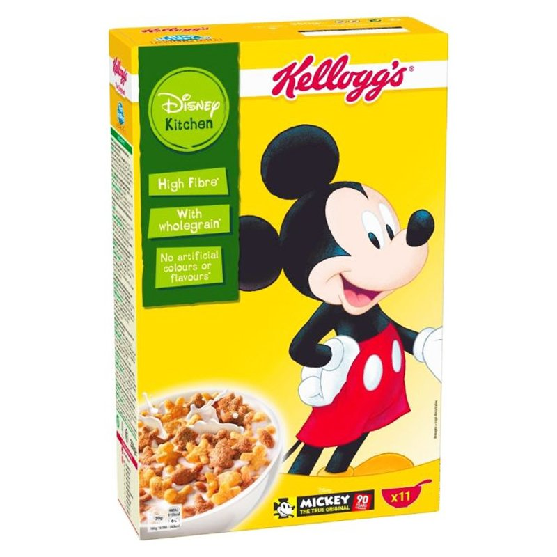 "Aamiaismurot ""Mickey Mouse"" 350g - 47% alennus"