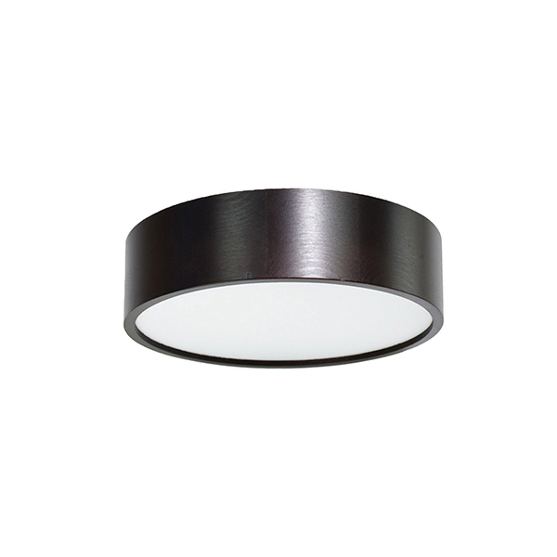 LED-taklampe Cleo, Ø 28 cm svart