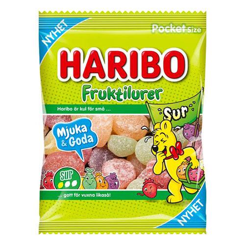 Haribo Fruktilurer Sur