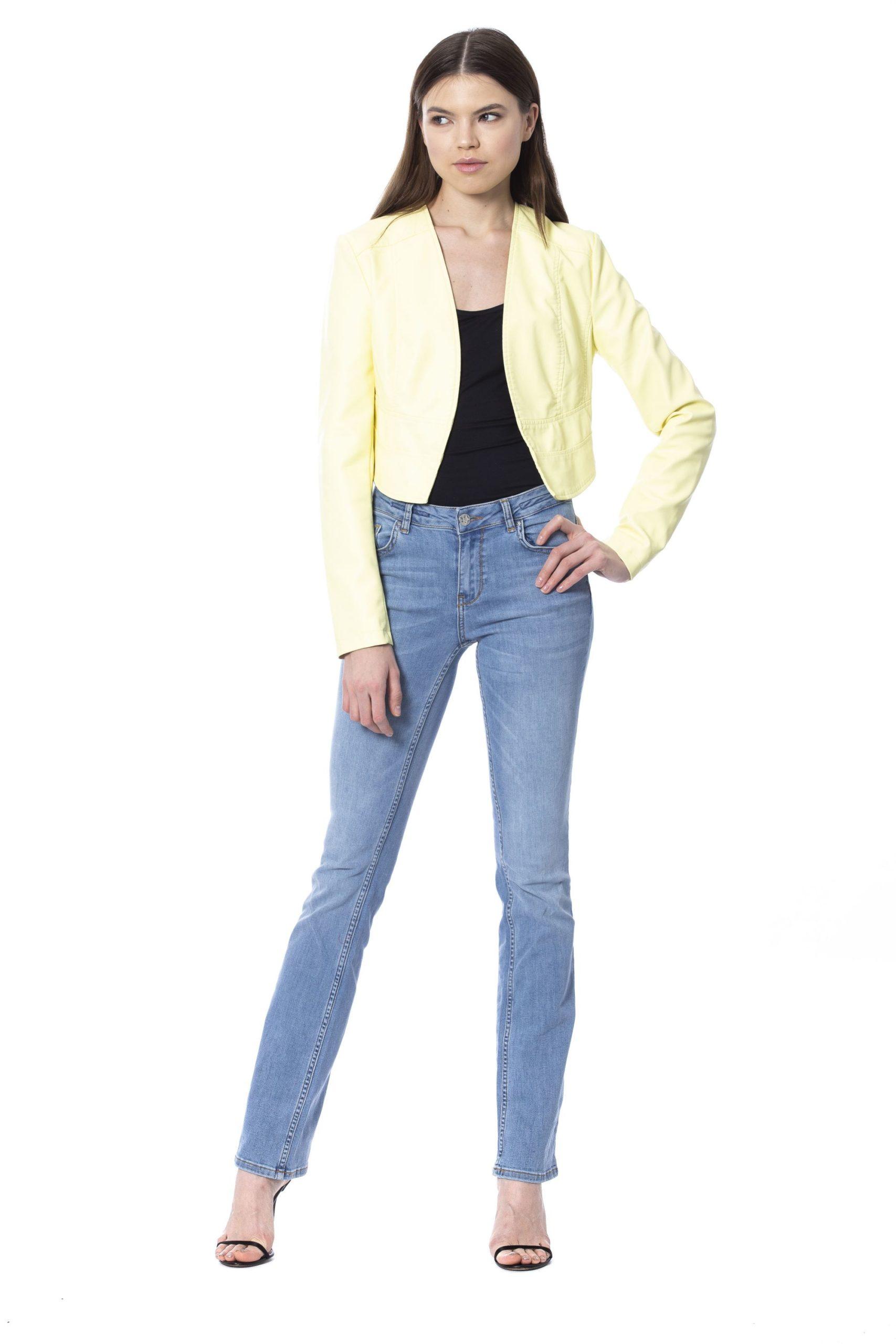 Silvian Heach Women's Jackets Yellow SI993928 - XXS