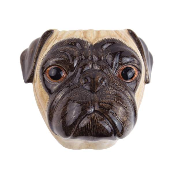 OUTLET Fawn Pug Wall Vase