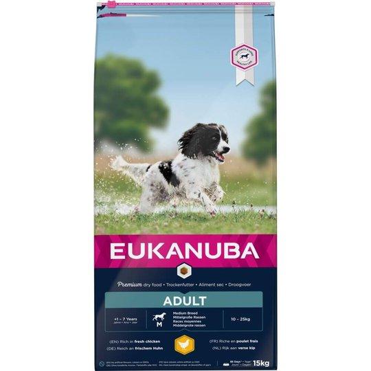 Eukanuba Dog Adult Medium Breed (15 kg)