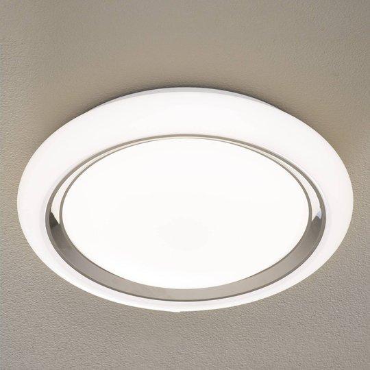 EGLO connect Capasso-C LED-taklampe hvit-krom
