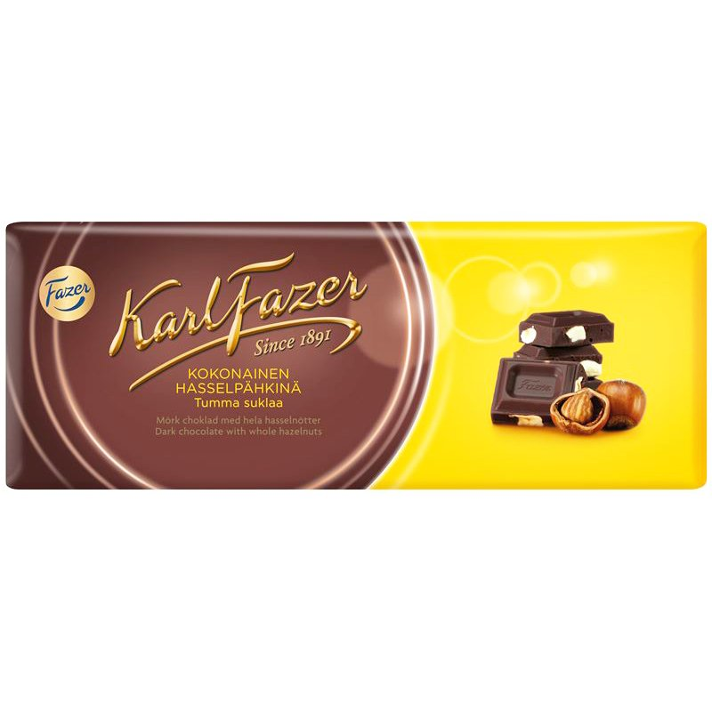 Tumma Suklaa Hasselpähkinä - 12% alennus
