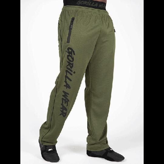 Mercury Mesh Pants, Army Green/Black