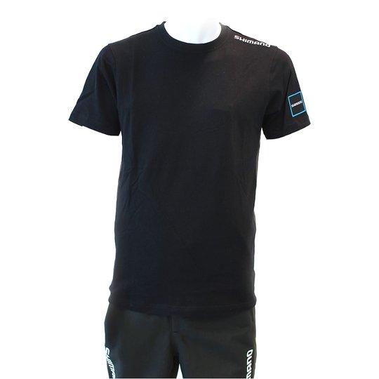 Shimano t-shirt, svart