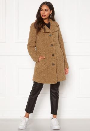 Happy Holly Nicole teddy coat Beige 40/42