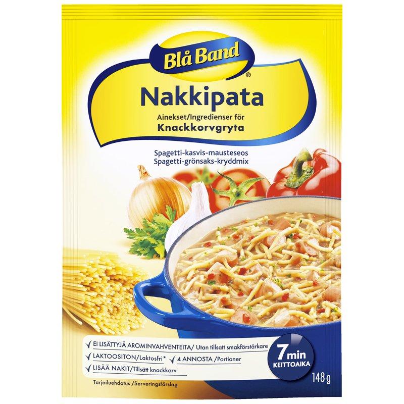 Blå Band Nakkipata 148g - 32% alennus