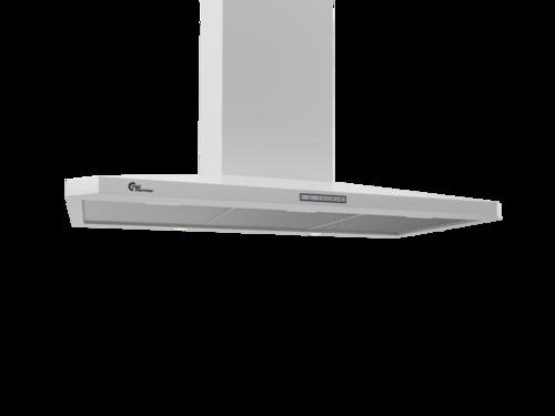 Thermex Decor 787 90 Cm Hvid U/motor Vägghängd Köksfläkt - Vit
