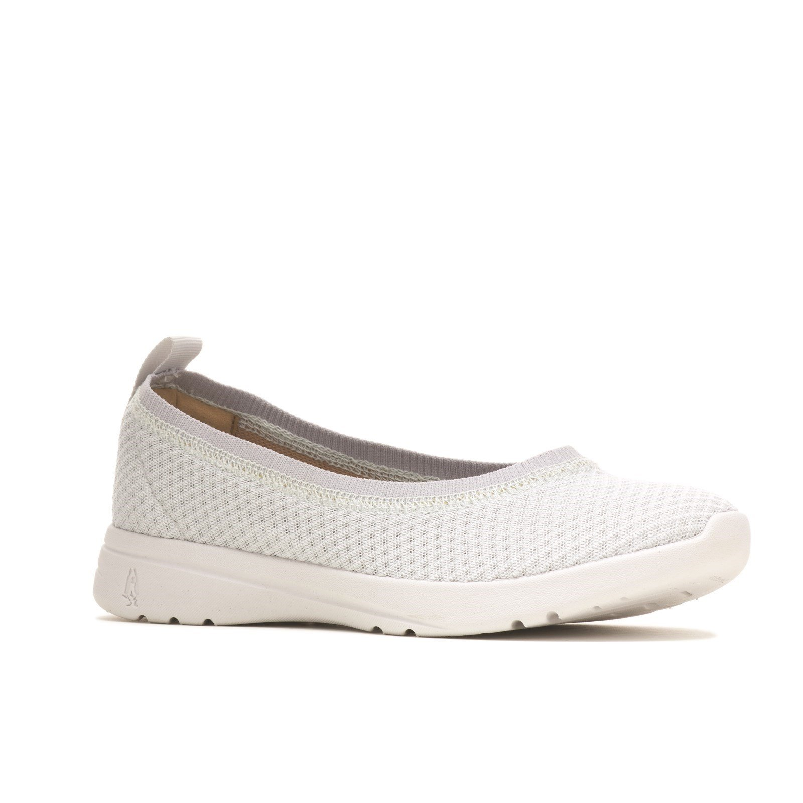 Hush Puppies Women's Good Ballet Slip On Shoes Various Colours 32918 - Grey 3