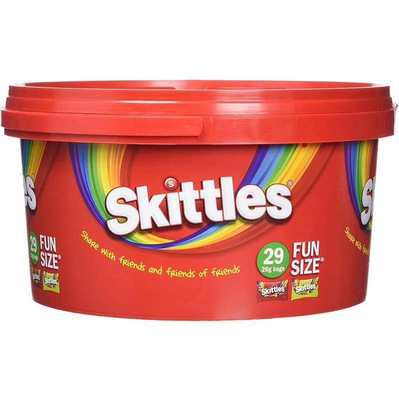 "Godis ""Skittles"" 754g - 40% rabatt"