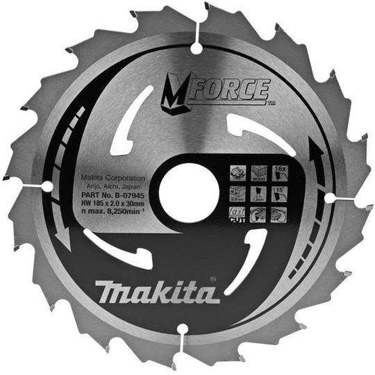 Makita B-07945 Pyörösahanterä 180 x 30 mm, varten puulle