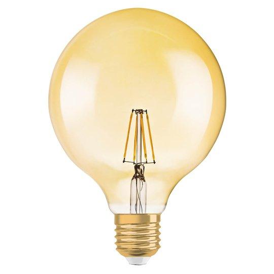 LED-pallolamppu Gold E27 2,8W lämmin valk., 220 lm