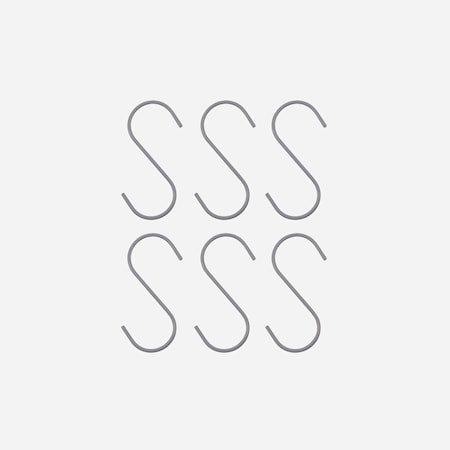 Krok Snap Sølv 4,8 x 19 cm