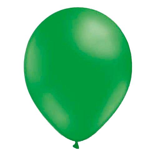 Miniballonger Grön - 100-pack