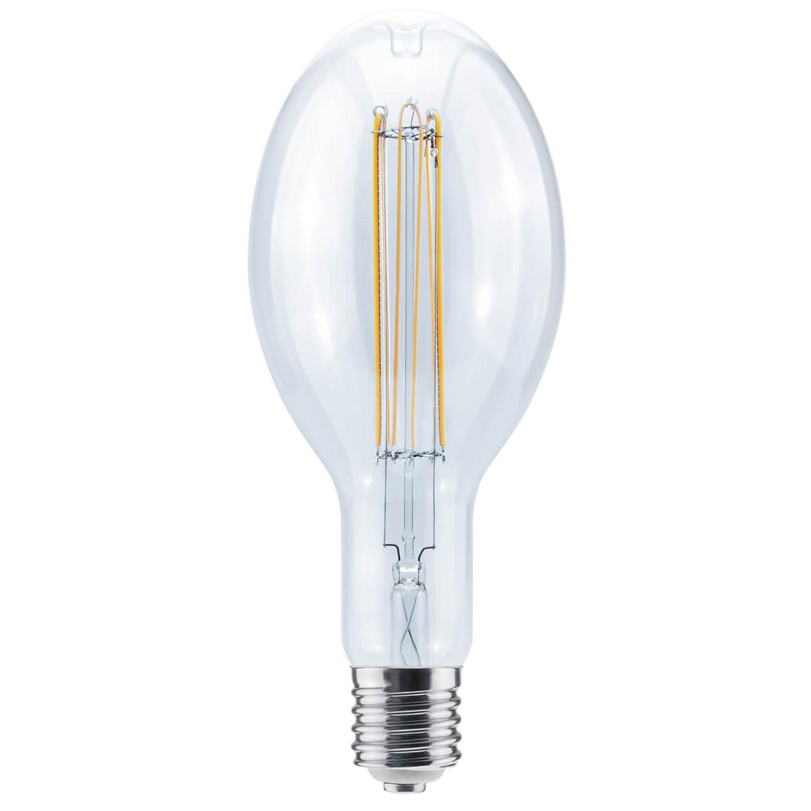 E40 18W 922 LED Ellipse Curved U himmennettävä