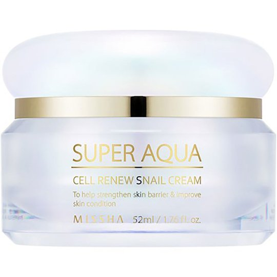 Missha Super Aqua Cell Renew Snail Cream, 52 ml MISSHA Kasvovoiteet
