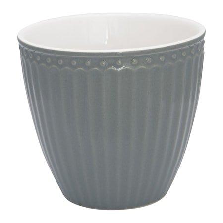 Alice Latte Cup Stone Grey