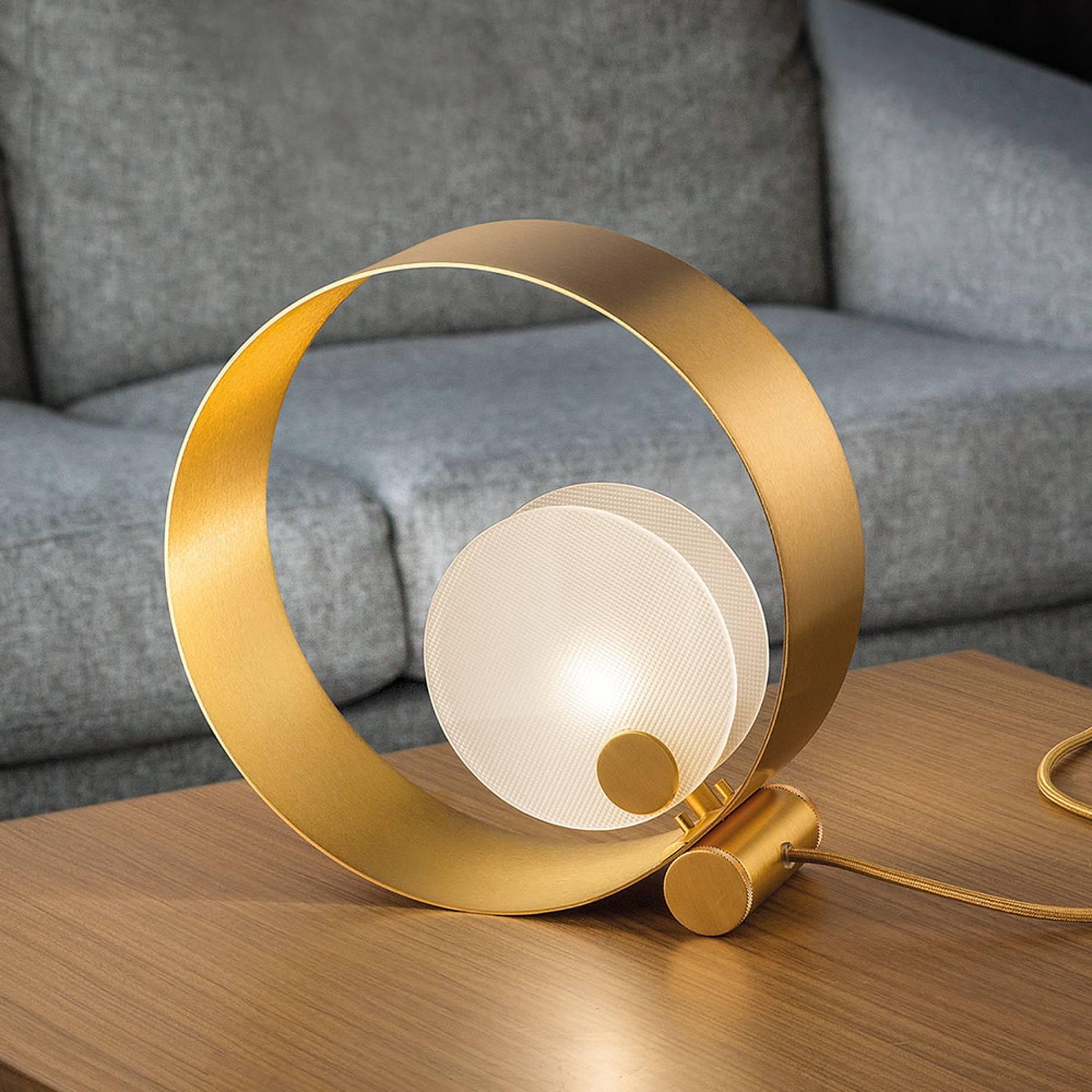 Pöytälamppu Sound TL1, pyöreä, G9