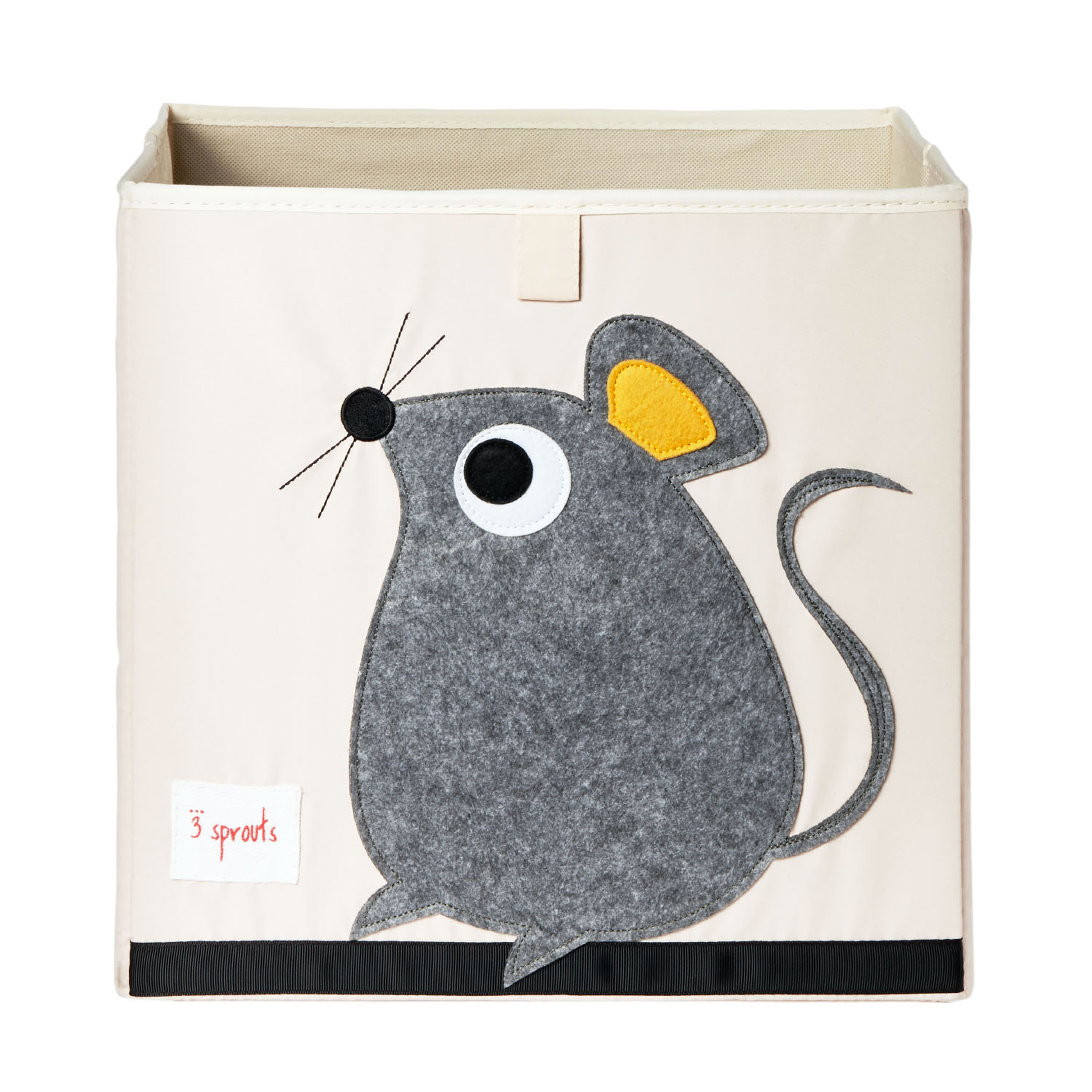 3 Sprouts - Storage Box - Gray Mouse