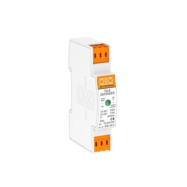 Obo Bettermann 5081694 Teledefender maksimal båndbredde 100 MHz
