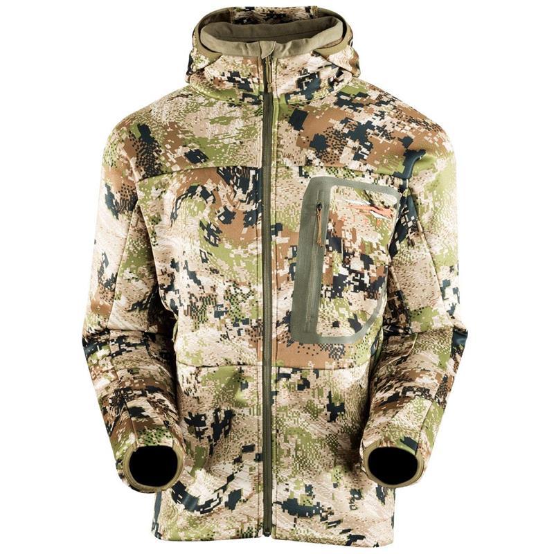 Sitka Traverse Cold Weather Hoody 2XL Optifade Subalpine kamuflasje fleece