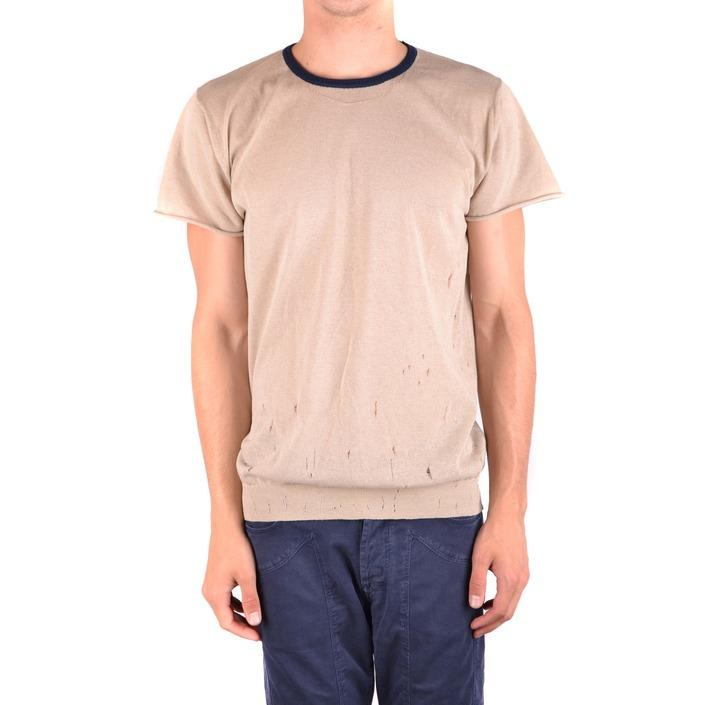 Daniele Alessandrini Men's T-Shirt Beige 163363 - beige 50