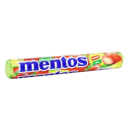 Mentos Jordgubb & Lime 37,5g - 33% rabatt