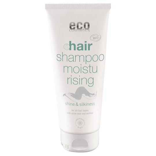Eco Cosmetics Fuktgivande Schampo Olivblad & Malva, 200 ml