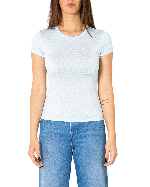Guess Women's T-Shirt Various Colours 252437 - light blue S