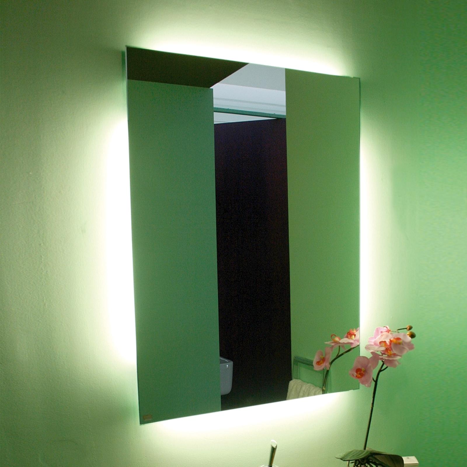 Epäsuoraan valaistu INLIGHT-peili