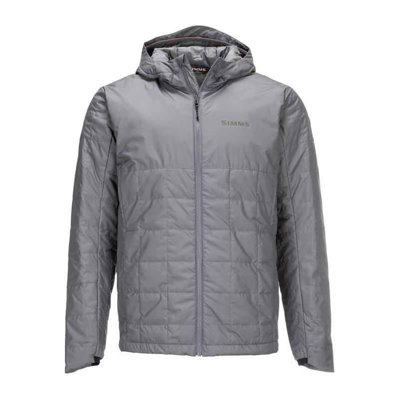 Simms Fall Run Hoody Steel S Primaloft jakke