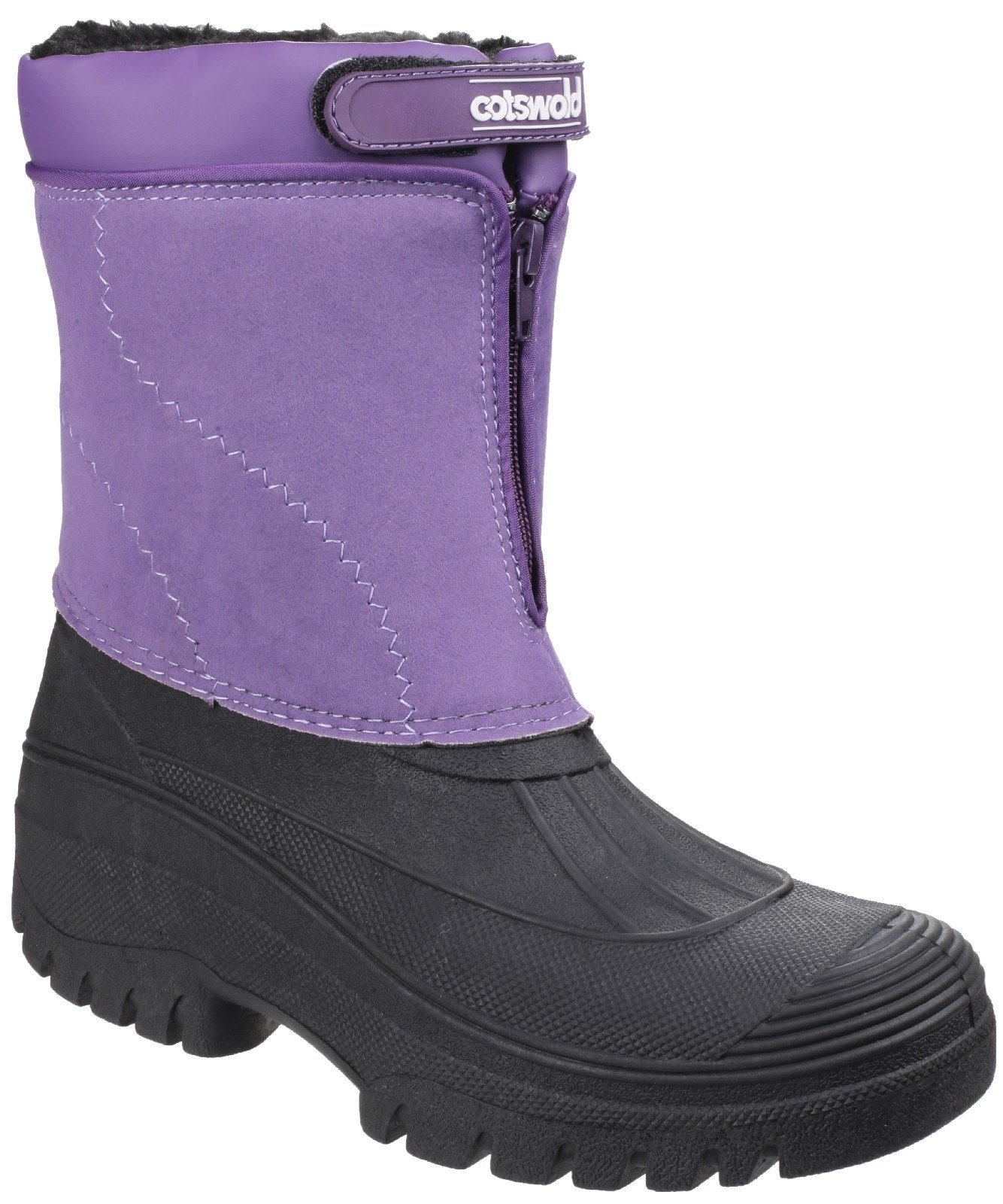 Cotswold Women's Venture Waterproof Winter Boot Various Colours 16569 - Purple 2