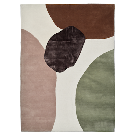 Topaz Teppe Ivory/Green 170x230 cm