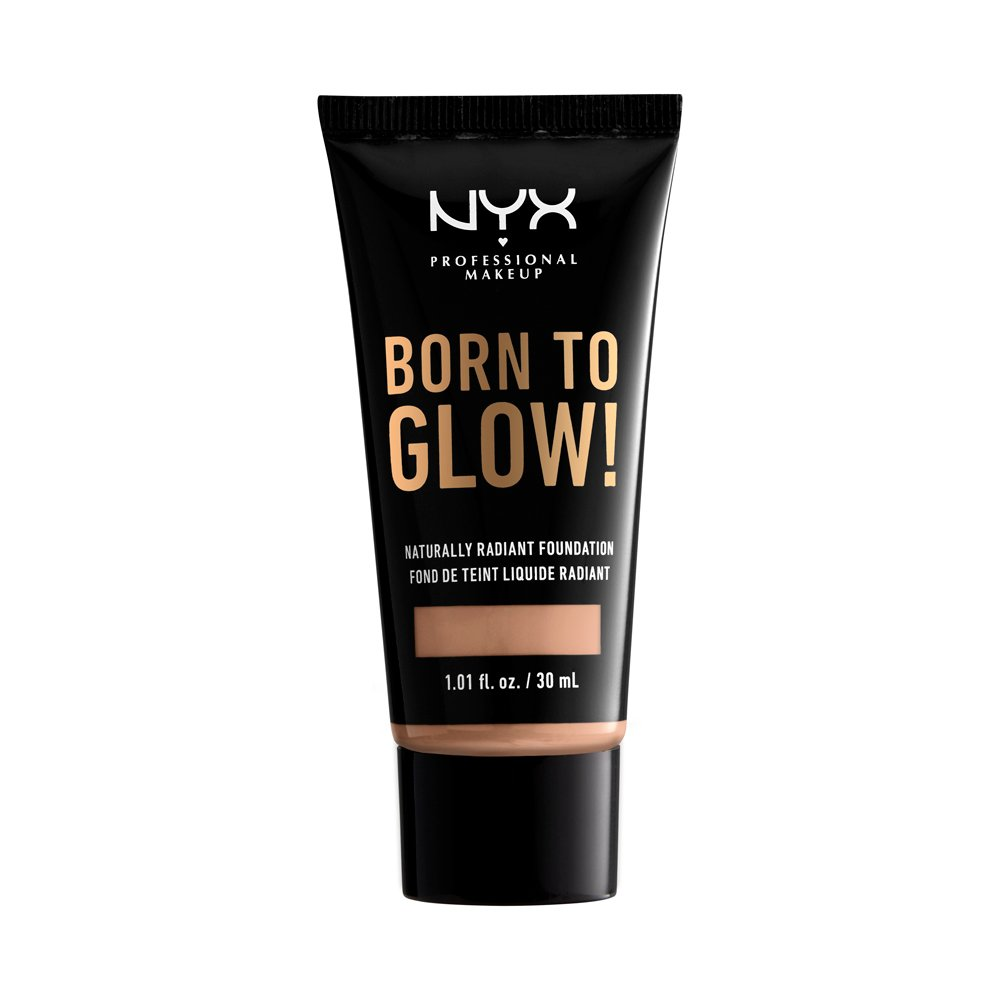 NYX Professional Makeup - Born To Glow Naturally Radiant Foundation - Soft Beige
