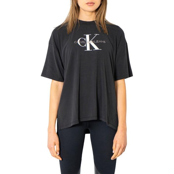 Calvin Klein Jeans Women T-Shirt Black 300017 - black XS