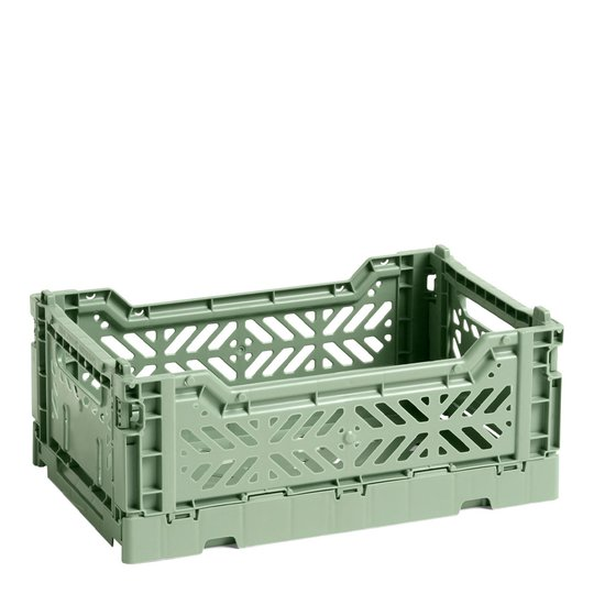 Hay - Hay Förvaringslåda Colour Crate S Grön