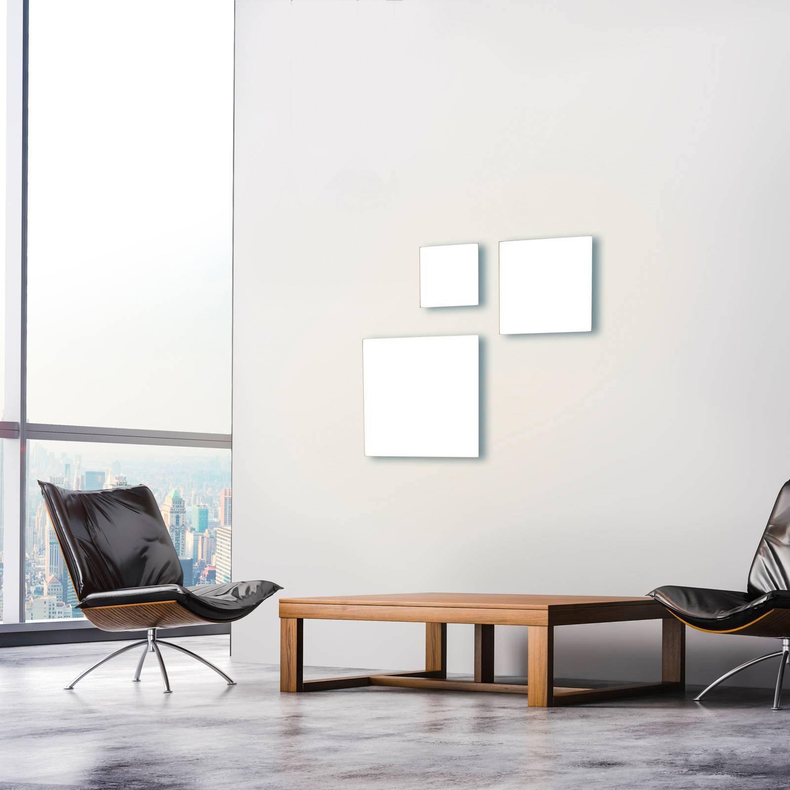 Canvas LED-taklampe, tunable white, 45 cm