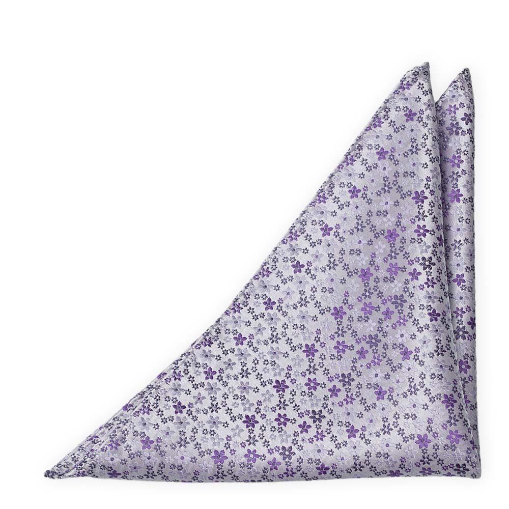 Silke Lommetørkler, Støvlilla med små blomster i to lillatoner